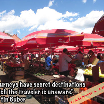 """All journey have secret destinations of which the traveler is unaware."""